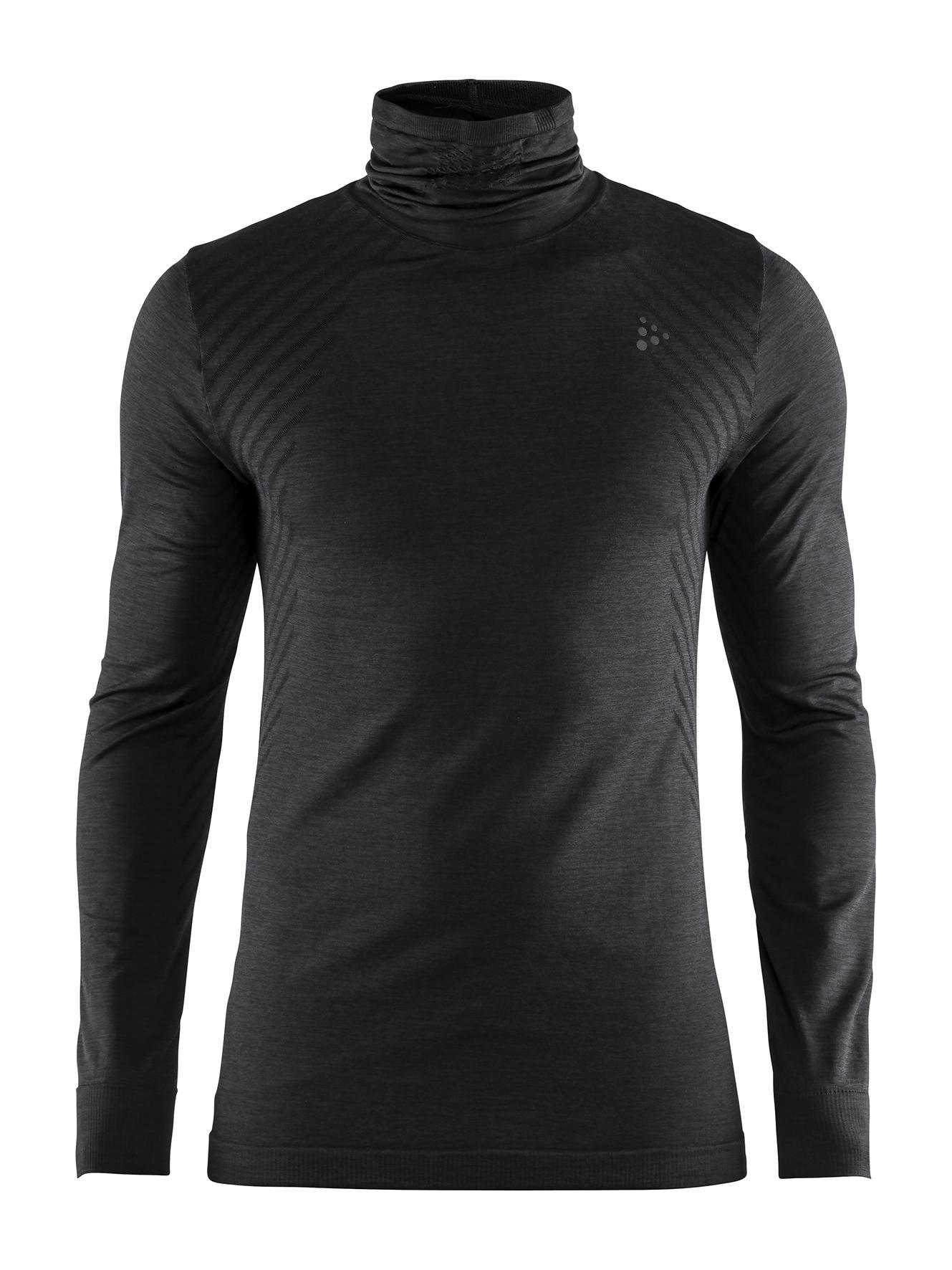 Fuseknit Comfort Turtleneck Man L (B99000 BLACK) -> /media/download/1906599_m_99000.jpg